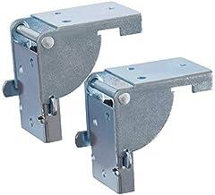 Gedotec klaptafelbeslag opvouwbaar voor tafelpoten en banken | gegalvaniseerd staal | opklapbare beugel voor tafelpoten 38...