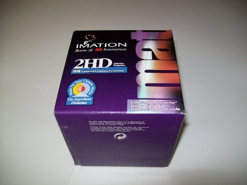 Portable, Imation 2hd Ibm Formatted Go Anywhere Diskettes - Box of 25 Consumer Electronic Gadget Shop