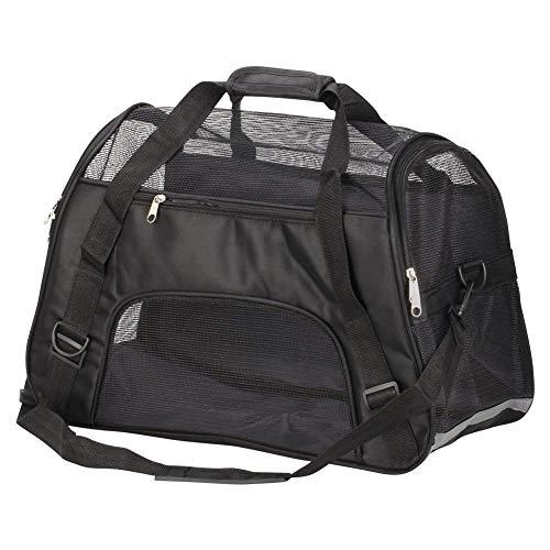 ROOPE Transporttasche für Haustiere, groß, Stoff, für Katzen, Hunde, Transporttasche für Haustiere, weich, faltbare Handtasche