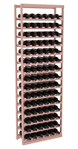 Wine Racks America Grand Mahogany Baker Style Wine Rack. Satin Finish