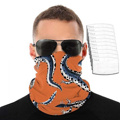 Dustproof Scarf Komodo Dragons Windproof Mask Unisex Balaclava Half Masks