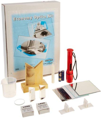science classroom optics kits Frey Scientific Basic Optics Kit