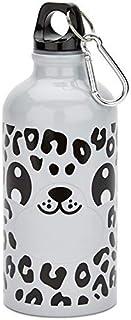 Zappi Tm Bebé Animal Leopardo de las Nieves Botella de Agua por Regalo Scholars. Lindo Regalo para Niños y Niñas