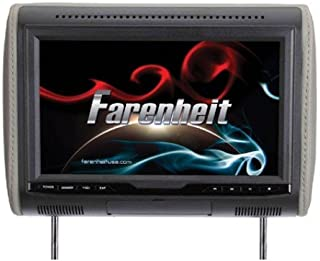 "Farenheit Fhdm-103 1080p Digital Media Headrest Preloaded w/ 10.3"" LCD & Hdmi MHL Input"