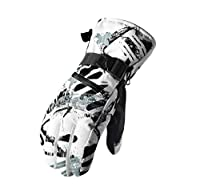 スキーグローブ メンズ SksK スノーボードグローブ レディース タッチパネル対応 バイクグローブ 防寒グローブ 耐水性10000mm 防水 スキー手袋 アウトドア 登山 厚手 グレー XL