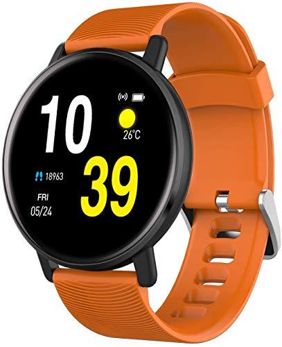 Hombres Y Mujeres Relojes Inteligentes Para La Pantalla Táctil Completa De Los Hombres, Podómetro Impermeable, Reloj Monitor De Sueño De Frecuencia Cardíaca, Para Teléfono Móvil Y Teléfono Móvil