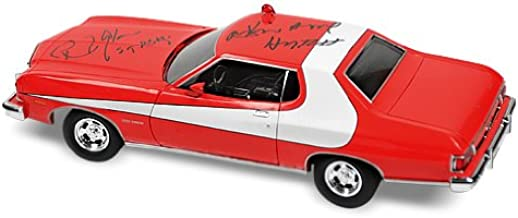 David Soul and Paul Michael Glaser Autographed Starsky & Hutch 1:18 Die Cast Car