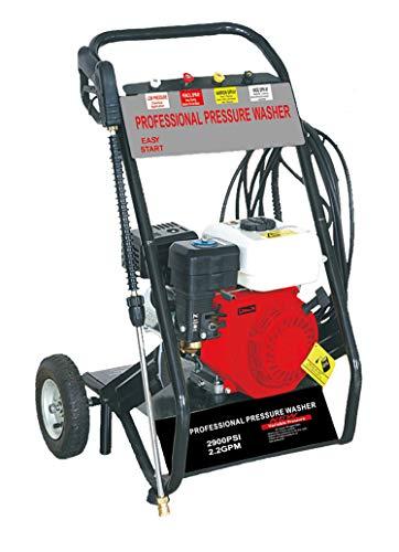 Hidrolimpiadora de Gasolina HIPPO KRAFT-HHPW170 2900 PSI con potencia de alta presión jet Hidrolimpiadora HHPW170 portátil de alta calidad Limpiadora para autos y patios