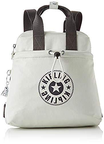 Kipling GOYO Mini  Backpacks para Mujer  Dynamic Silver  11x27x27.5 cm  LxWxH
