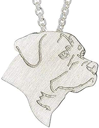 ZPPYMXGZ Co.,ltd Halskette Mode Klassische Männer Frauen Charme Halskette Schmuck Hundekette Halskette Haustier Anhänger Halskette Memorial Geschenk