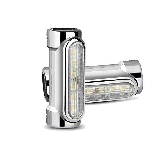 OUTEYE Motorrad-Autobahn Bar LED-Licht 2Pcs Motorrad Autobahn Bar-LED-Leuchten Switchback treibendes Licht Blinker Sturzbügel Autoleuchten