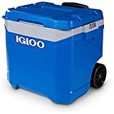 IGLOO Outdoor Latitude 60 Cool Box, Blue, 56 Liter