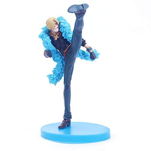 One Piece Sanji 20Th Anniversary Limit Anime Modelo Coleccionable Muñeca Figuras De Acción Adornos Marionetas De PVC Juguete De Dibujos Animados 20Cm