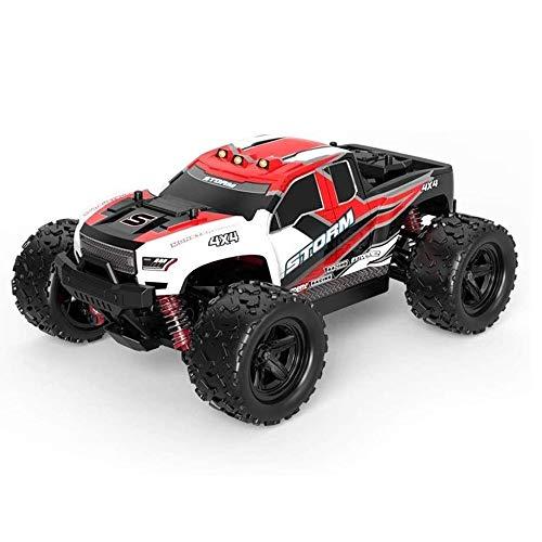 MUZoo Fernbedienung Geländewagen Drift Racing Game 50 km/h Highspeed Wasserdicht All-Terrain-Geländewagen 4WD Leistungsstarke Fernbedienung Auto Spielzeug for Erwachsene und Kinde