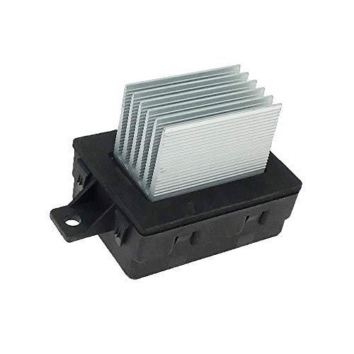 HVAC Fan Blower Motor Resistor Fits 2010-2012 Ford Fusion Lincoln MKZ 2006 2010-2011 Mercury Milan Replace 6E5Z19E624AA 8E5Z19E624A 4P1589 JA1712 YH1825 RU797