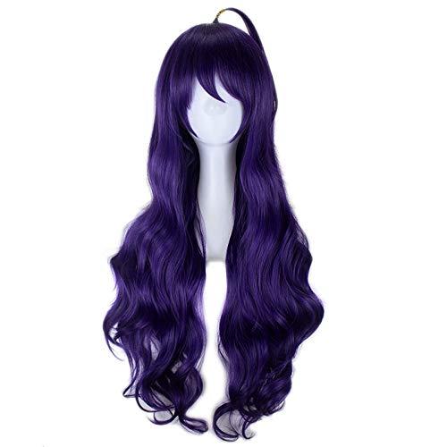 Anime Seraph des Endes Asuramaru Cosplay Perücken Lang Lila Hitzebeständige synthetische Haarperücke + Perückenkappe