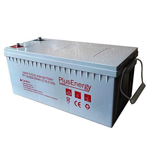 Bateria Solar AGM 250A Baterias Uso para instalaciones solar descarga profundo
