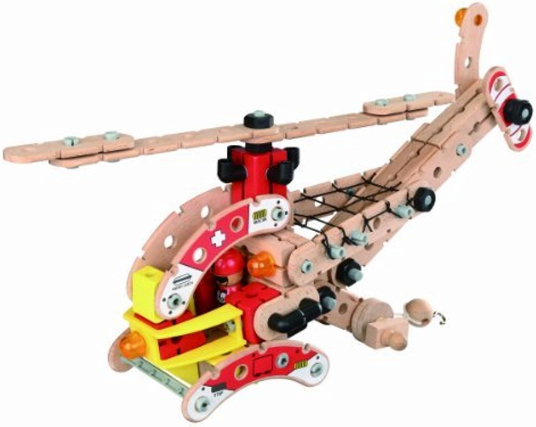 Con 100% de calidad y servicio de% 100. Maxim WudWorkers Helicopter (125 pcs) by Maxim Enterprise - Juguetes Juguetes Juguetes  Felices compras