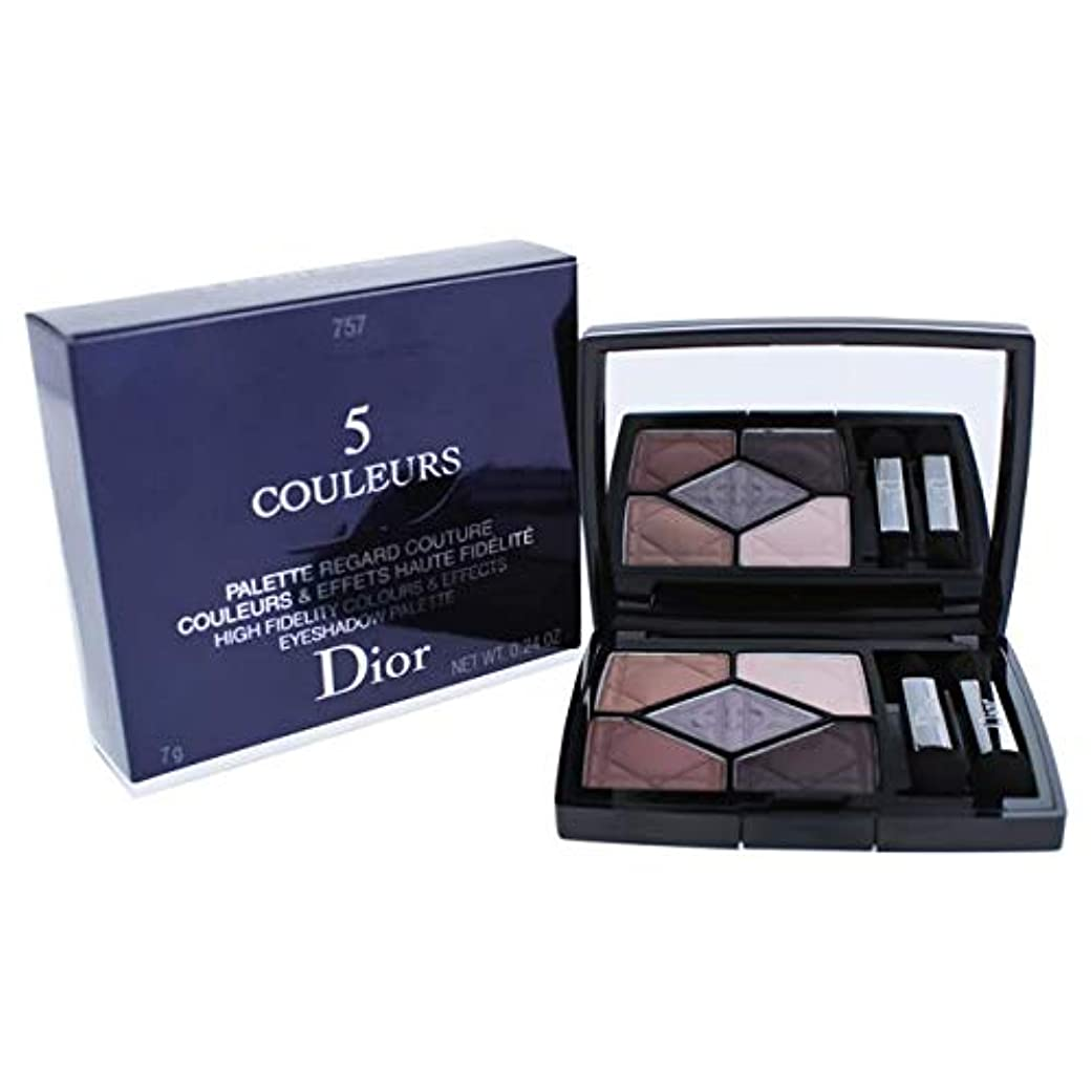 マートインストラクター警察署クリスチャンディオール 5 Couleurs High Fidelity Colors & Effects Eyeshadow Palette - # 757 Dream Matte 7g/0.24oz