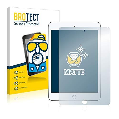 BROTECT 2X Entspiegelungs-Schutzfolie kompatibel mit Apple iPad Mini 4 2015 Bildschirmschutz-Folie Matt, Anti-Reflex, Anti-Fingerprint