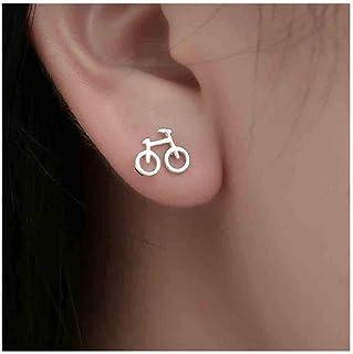 Bicycle Tube Gear Earrings