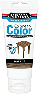 Minwax 308034444 Express Color Wiping Stain and Finish, Walnut