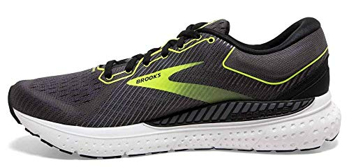 Brooks Transcend 7, Scarpe da Corsa Uomo, Black/Ebony/Nightlife, 44.5 EU