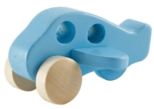 Hape Little Plane Kid's Wooden Toy Vehicle