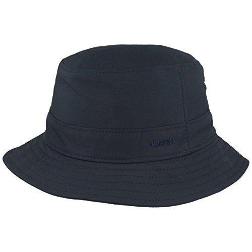 Outdoor Fischer-Hut | Bucket-Hat | Sonnen-Hut – Gore-TEX® Membran, UV Schutz 40+ & Öko-Tex Standard 100 – Wind- & Wasserabweisend – Blau - Größe 63