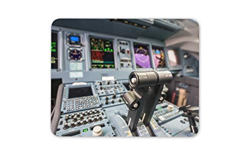 Jumbo Jet Flight Simulator della cabina di guida Comandi mouse Pad Mat - Regalo Computer # 16332