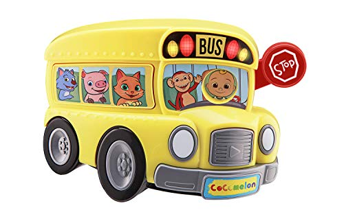Cocomelon Bus for Kids with Built-in Cocomelon Songs and Sound Effects, Fun Musical Toy for Fans of Cocomelon Merchandise and Cocomelon Toys for Toddlers