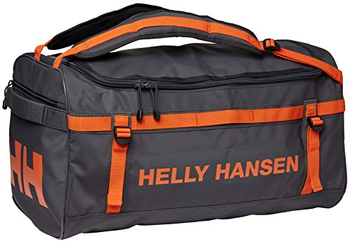 Helly Hansen Classic Duffel Reisetasche Wasserdicht Sporttasche, Ebony, 30L