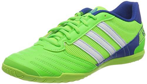 Adidas Super Sala, Zapatillas Deportivas Fútbol Hombre, Verde (Solar Green/FTWR White/Team Royal Blue), 41 1/3 EU