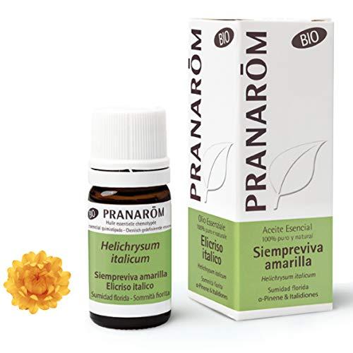 Pranarôm - Aceite Esencial Siempreviva Amarilla Bio - Sumidad Florida - 10...
