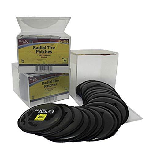 "3 1/8"" Round Radial Patch (BJK-) - Black Jack Tire Repair RA-553"