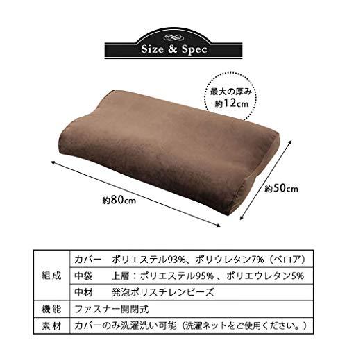 EMOOR(エムール)『【至福の睡眠】マシュマロフットピロー(fx-shihukufp)』