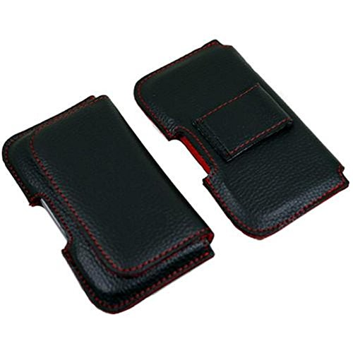 Handy Gürteltasche für Samsung Galaxy Xcover Pro F41 Smartphonetasche Schutzhülle Wallet Handytasche Quertasche mit Gürtelschlaufe, schwarz