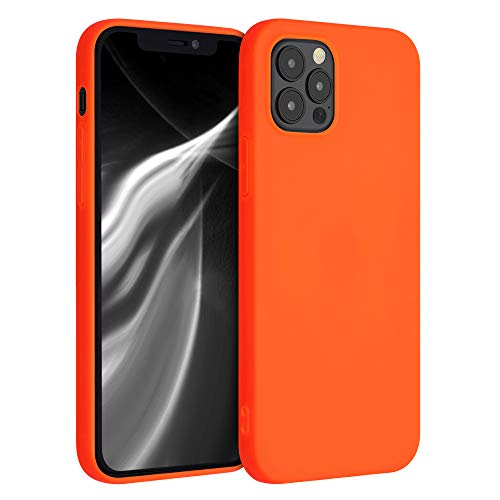kwmobile Hülle für Apple iPhone 12/12 Pro - Hülle Handyhülle - Handy Hülle in Neon Orange