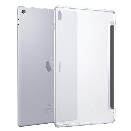 ESR iPad Pro 12.9 ケース(2017年版) クリア バックカバー 軽量 スマートキーボード対応 スリム ハード PC ...