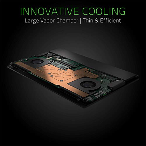 Razer Blade 15 Gaming Laptop 2019 - Intel Core i7- 9750H 6 C   ore, GeForce RTX 2070 Max-Q, 15.6