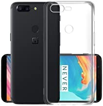 Plus Exclusive Soft Silicone TPU Transparent Clear Case Soft Back Case Cover Packaging Kit for Oneplus 5T