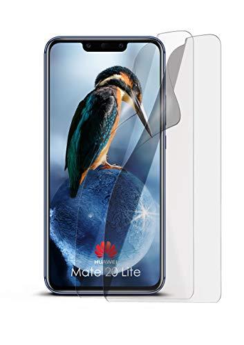 MoEx® Anti Reflex Displayschutzfolie passend für Huawei Mate 20 Lite | Schutzfolie Matt Display Folie gegen Reflexionen, flexibel, 2X Stück