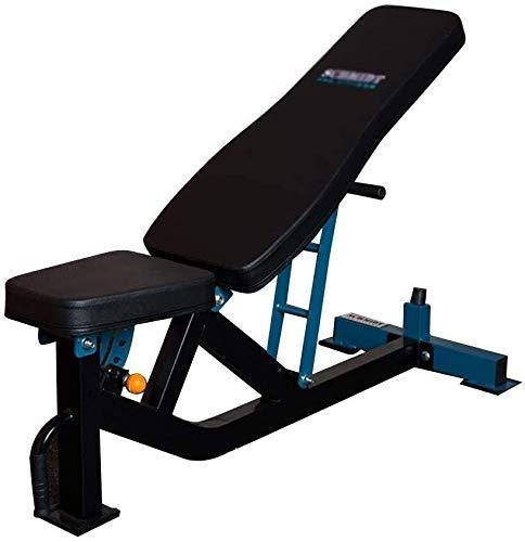 Banco de pesas ajustable para uso comercial, banco de fitness profesional, multifunción, silla de fitness ajustable