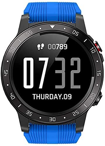Fitness Smart Watch Deportes al aire libre IP67 impermeable Bluetooth Wist reloj presión arterial ritmo cardíaco monitor de sueño GPS calorías podómetro cronómetro reloj brújula