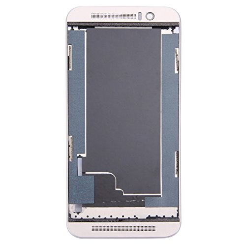 Nobrand YBLSMSH Front Housing LCD Frame Bezel Plate for HTC One M9 (Gold on Silver) Q