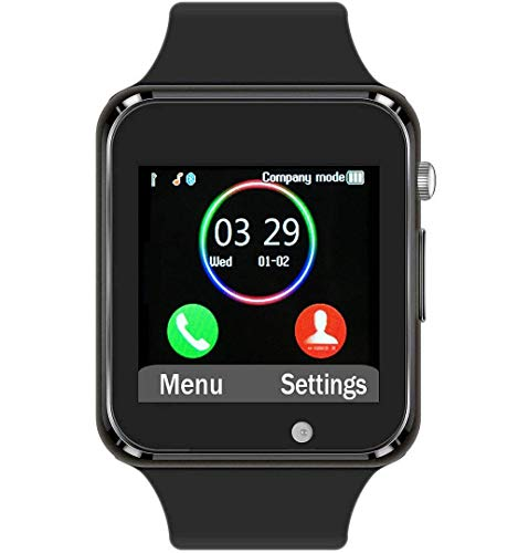 Funntech Smart Watch for Android Phones with Pedometer Unlocked 2G GSM Phone Call 1.54 Inch...