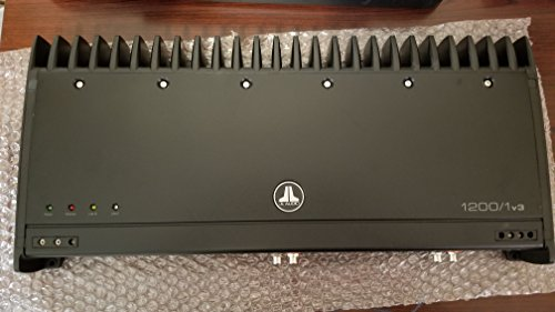 JL Audio Slash Series 1200/1v3 Mono subwoofer Car Amplifier, 1,200 watts RMSx1