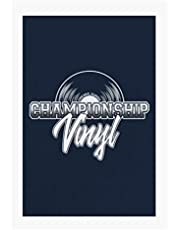 Championship Vinyl High Fidelity A4 Print