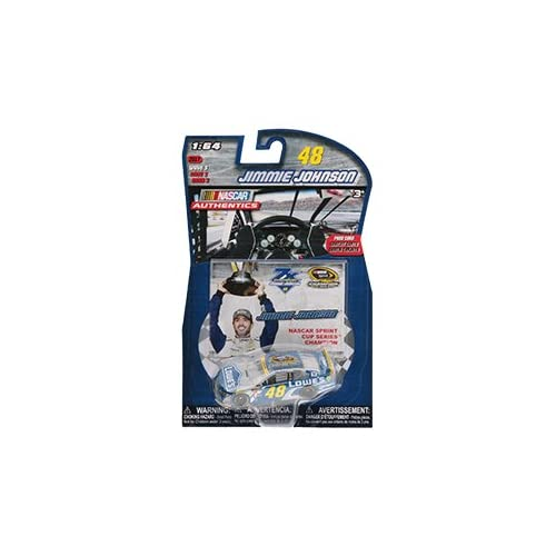 b2d32fe0a222 Nascar Seven Time 7X Champion Jimmie Johnson  48 Lowes Sprint Cup Champion  Collector Card Authentics