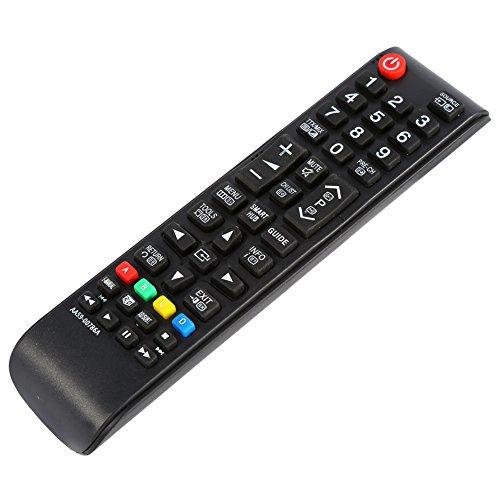BOLORAMO Control Remoto de TV, Teclas de navegación de menú dedicadas Reemplazo del Control Remoto para LCD LED o TV de